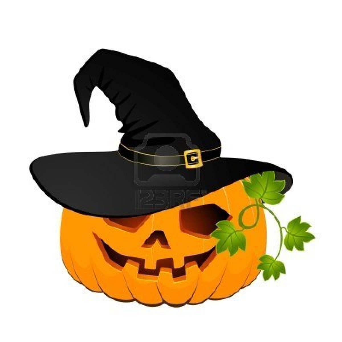 7149094-carved-face-of-pumpkin-in-hat-on-halloween